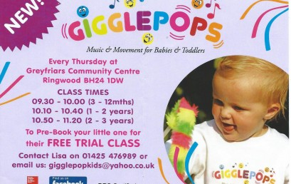 Gigglepops for Babies & Toddlers