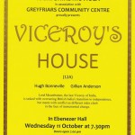 """Film Night 11 Oct – """"Viceroy's House"""", 7.30pm – Tickets now available"""