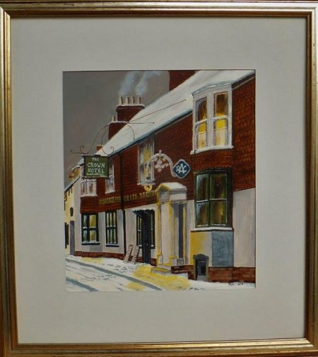 Crown In Ringwood, 1963 by Michael Blake